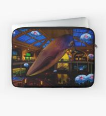 Something's up in the Milstein Family Hall of Ocean Life Laptop Sleeve