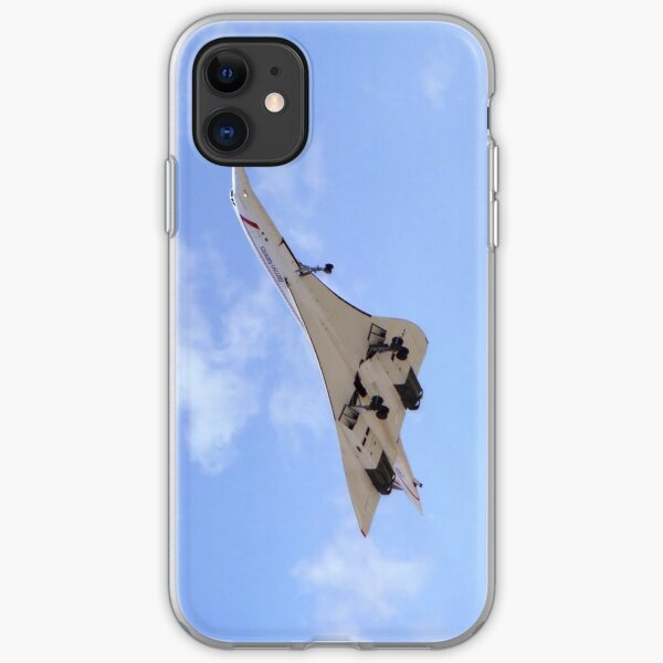 Concorde [G-BOAF] - Portrait iPhone Soft Case