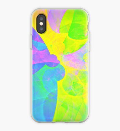 Bright #Fractal Art iPhone Case