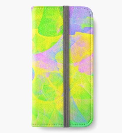 Bright #Fractal Art iPhone Wallet