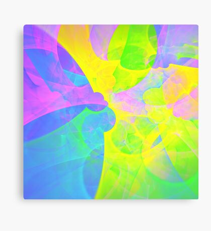 Bright #Fractal Art Canvas Print