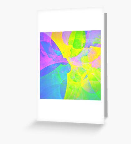 Bright #Fractal Art Greeting Card