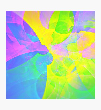 Bright #Fractal Art Photographic Print