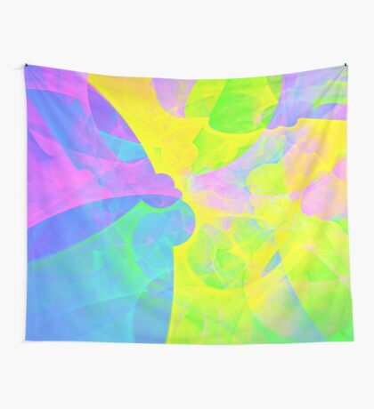 Bright #Fractal Art Wall Tapestry