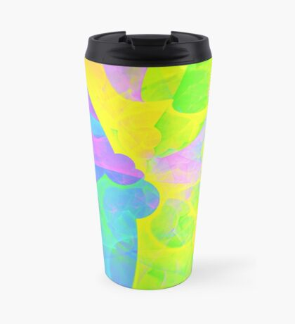 Bright #Fractal Art Travel Mug