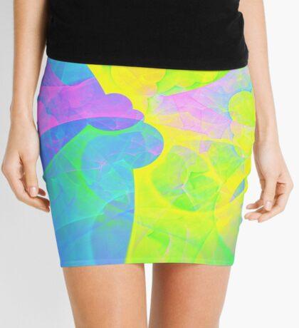Bright #Fractal Art Mini Skirt