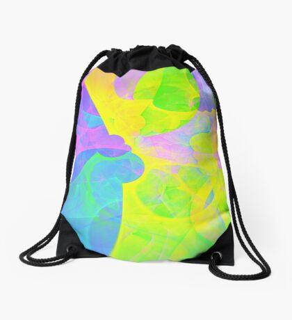 Bright #Fractal Art Drawstring Bag