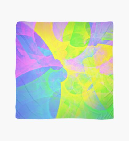 Bright #Fractal Art Scarf