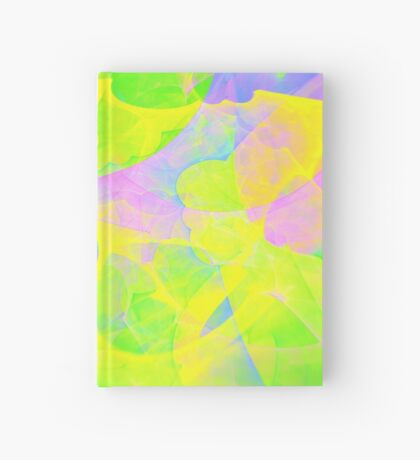 Bright #Fractal Art Hardcover Journal