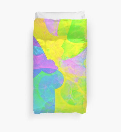 Bright #Fractal Art Duvet Cover