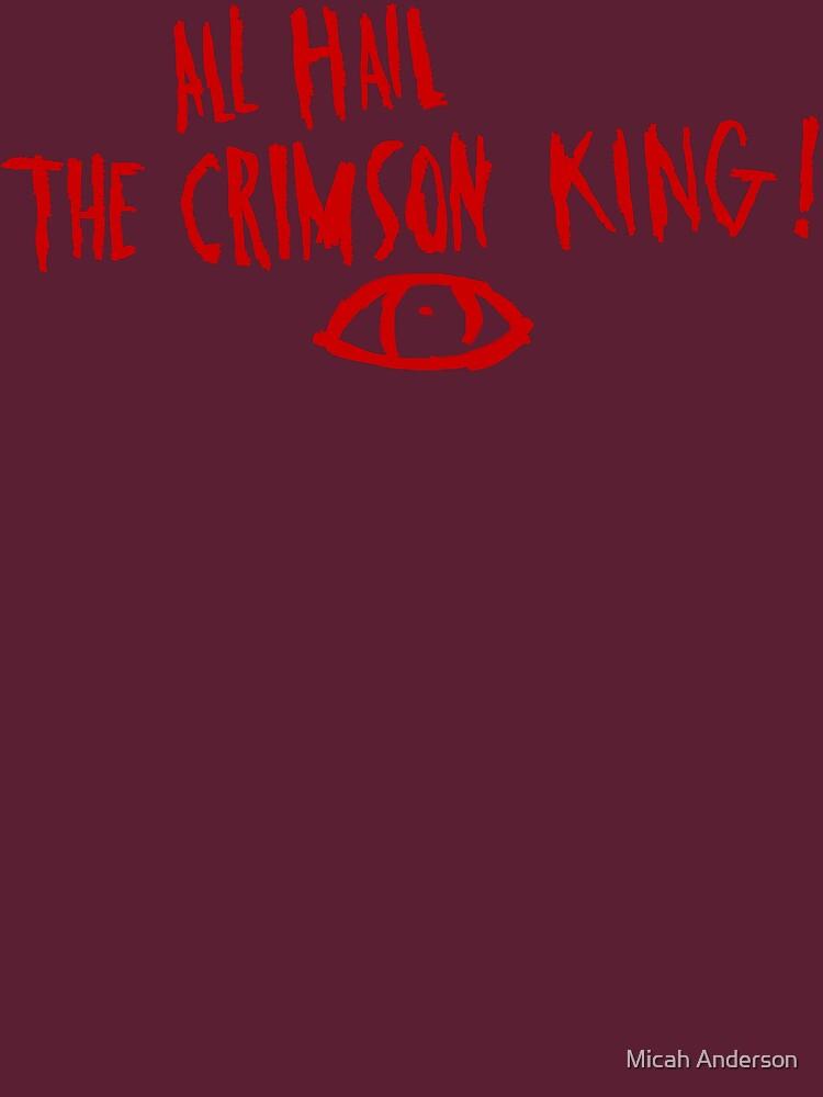 The Crimson King by Miachalistic