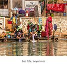 Women at Inle Lake by Jacinthe Brault