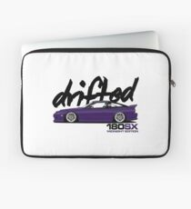 Drifted 180sx Merch - Midnight Edition by Drifted Laptop Sleeve