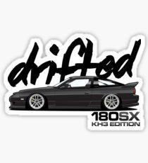 Drifted 180sx Merch - KH3 Edition by Drifted Sticker