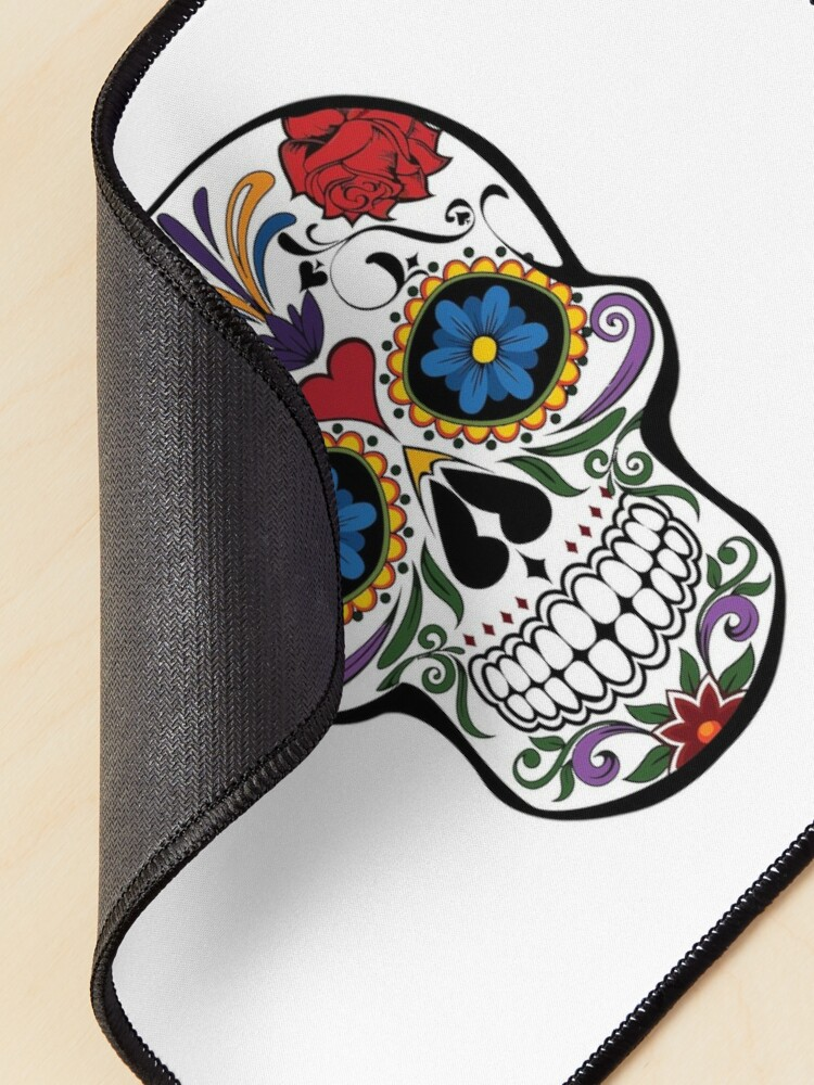 Alternate view of Day of the Dead, Día de Muertos Mouse Pad
