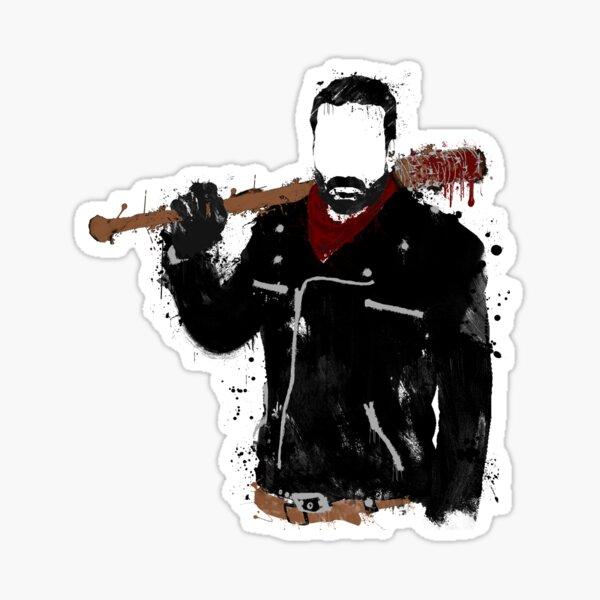 Splatter Negan Sticker