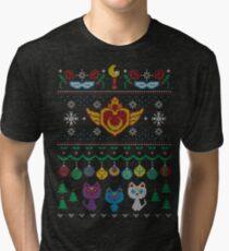 Senshi Sweater Tri-blend T-Shirt