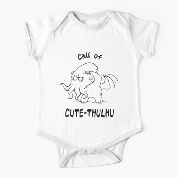 Call of Cute-Thulhu Short Sleeve Baby One-Piece