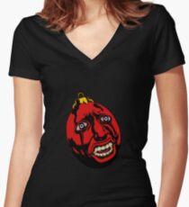 Behelit - Berserk Women's Fitted V-Neck T-Shirt