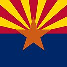 Arizona State Flag Products by Mark Podger