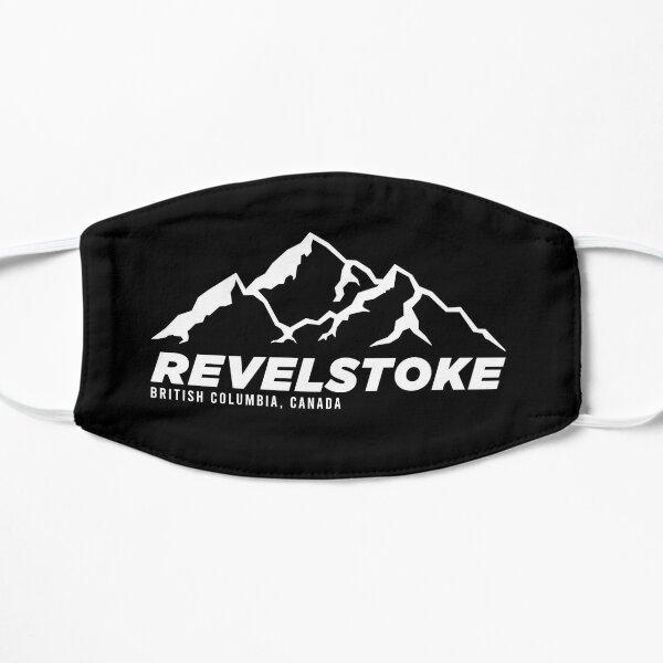 Ski Revelstoke B.C Canada Skiing and Mountain Biking Paradise Flat Mask