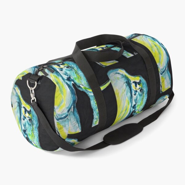 Elephant doodle Duffle Bag