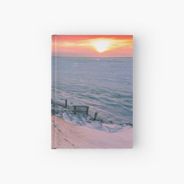 Cape Cod Winter Eastham Thumpertown Beach Hardcover Journal