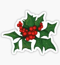 Holly Sticker