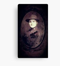 Soldier's Mizpah Canvas Print