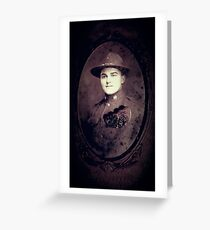 Soldier's Mizpah Greeting Card
