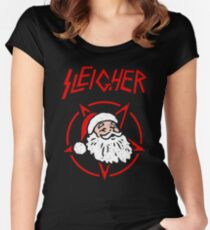 Sleigher Women's Fitted Scoop T-Shirt
