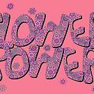 Floral Riot - Pink Wash by Geckojoy