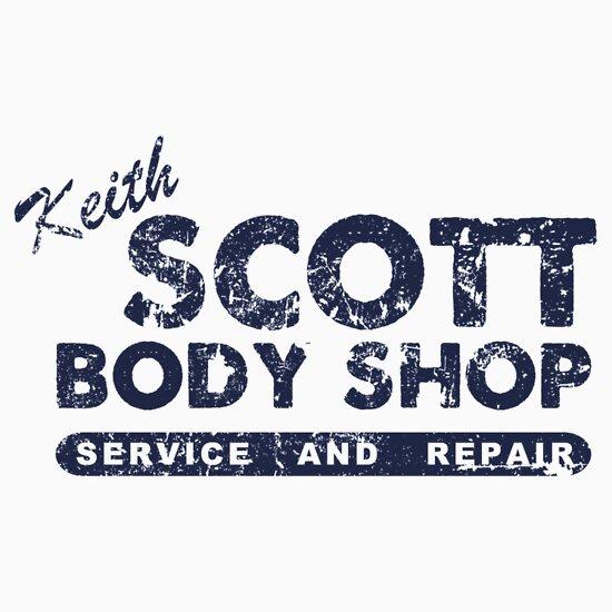 Quot Keith Scott Body Shop Logo Quot Stickers By Quinnwentz777