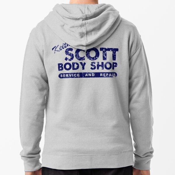 Keith Scott Body Shop Logo Zipped Hoodie