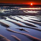 Sunset at Low Tide Cape Cod by Artist Dapixara
