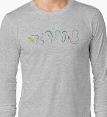 Starters Silhouette Black Long Sleeve T-Shirt