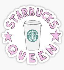Starbucks Queen Sticker