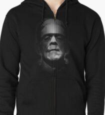 Frankenstein Monster Boris Karloff Gesicht Kapuzenjacke