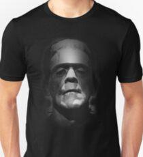 Frankenstein Monster Boris Karloff Face Unisex T-Shirt
