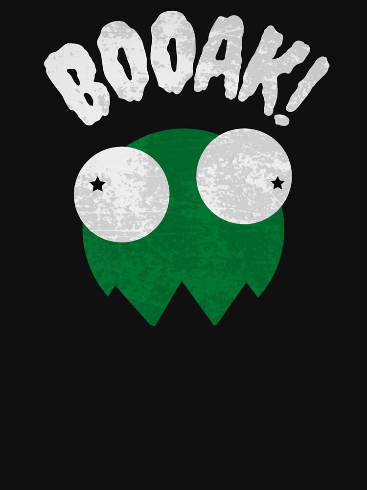BOOAK! - GREEN GHOST FROG // Funny Halloween // Comic Design von ONLY-E-DE