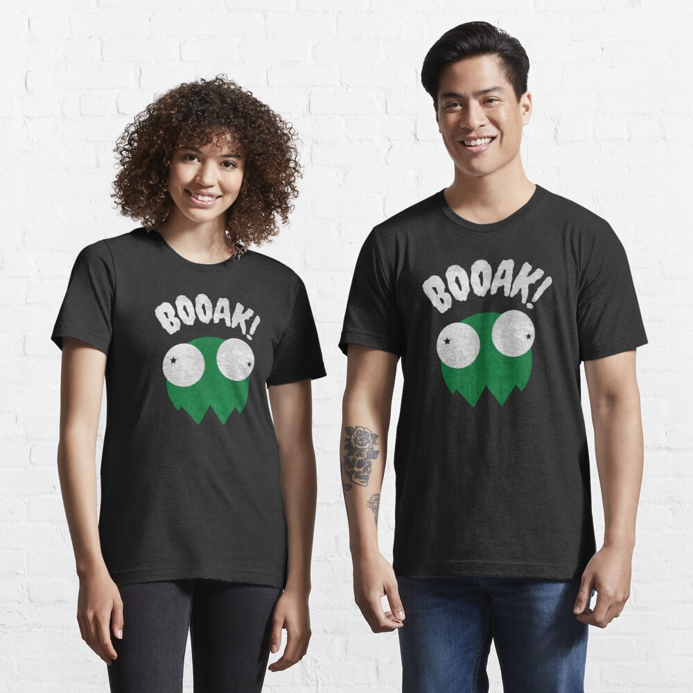 BOOAK! - GREEN GHOST FROG // Funny Halloween // Comic Design Essential T-Shirt