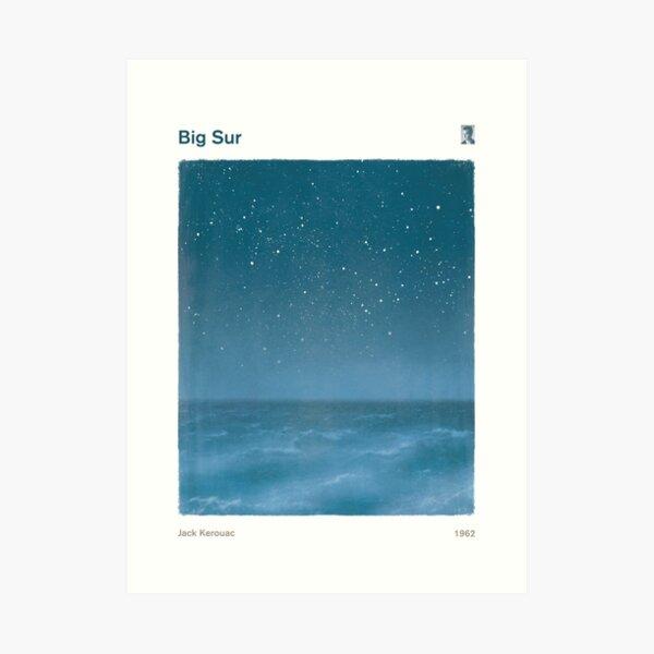 Big Sur - Jack Kerouac Lámina artística