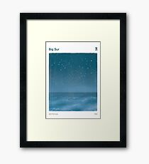 Big Sur - Jack Kerouac Framed Print