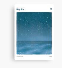 Big Sur - Jack Kerouac Leinwanddruck