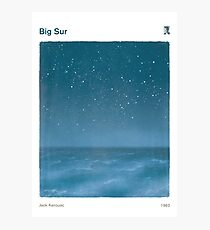 Big Sur - Jack Kerouac Photographic Print