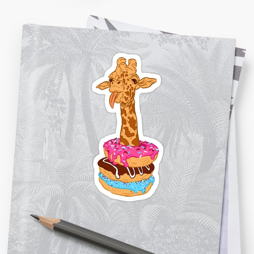 Donuts giraffe by Evgenia Chuvardina