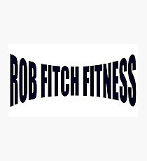 Rob Fitch Photographic Print