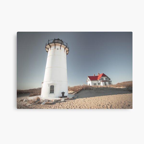 Race Point Lighthouse Provincetown Cape Cod  Canvas Print