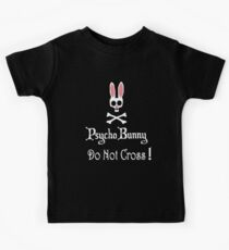 Watch out! Psycho Bunny Inside! Do Not Cross! Kids Clothes