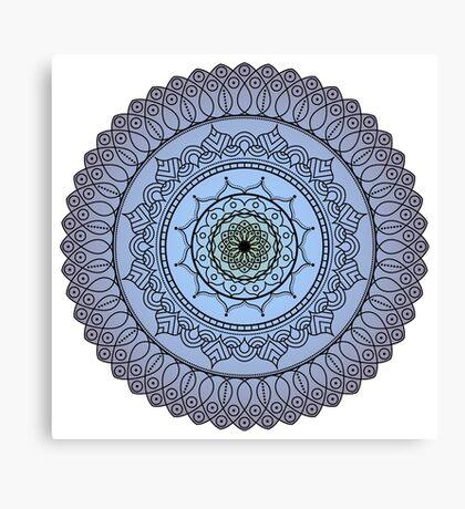 The Watching Mandala Canvas Print